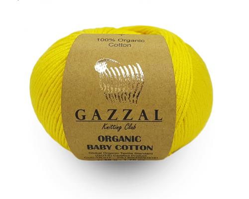 Пряжа GAZZAL Organic Baby Cotton