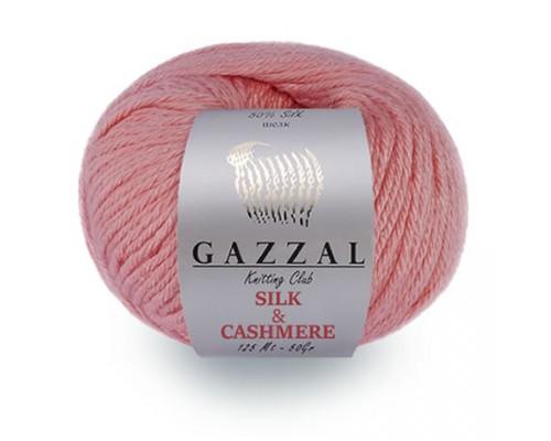 Пряжа Gazzal Silk & Cashmere