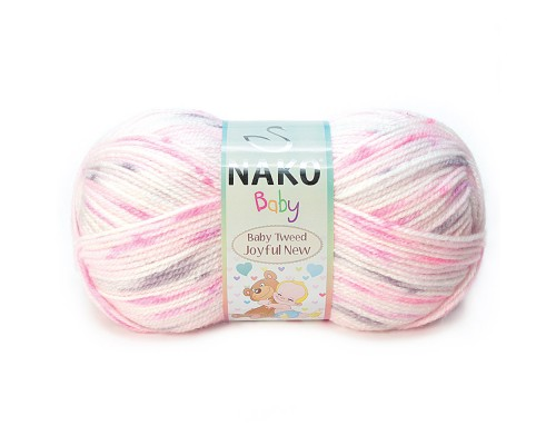 Пряжа NAKO Baby Tweed Joyful New
