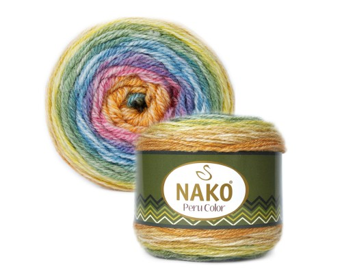 Пряжа Nako Peru Color